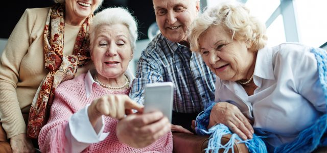 The use of smartphones has increased among seniors
