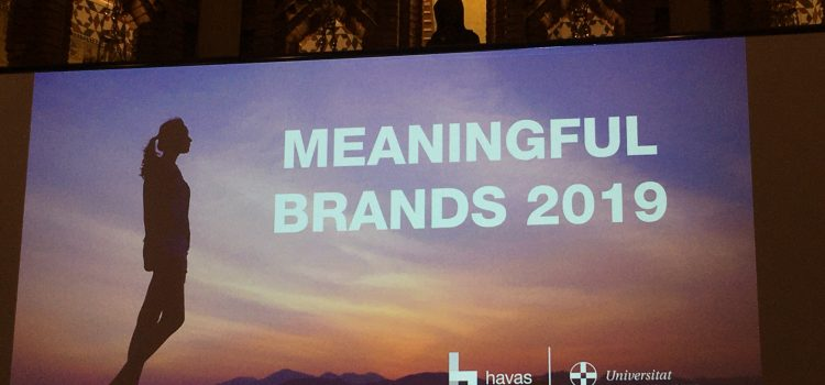 Meaningful brands wanted by 84% of consumers around the world