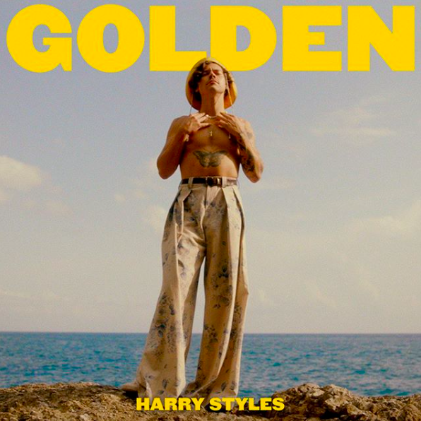"""Harry Styles """"Golden"""" cover image"""