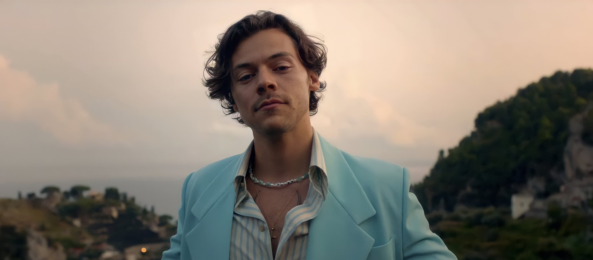 Harry Styles in the 'Golden' music video