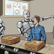 Jobs at peril? People worried of robots