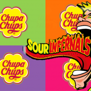 The new sour range of Chupa Chups